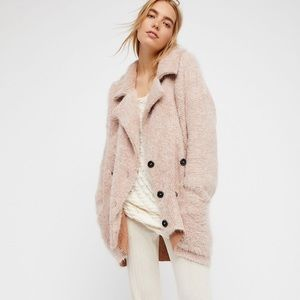FREE PEOPLE Take Two Sweater Coat.
